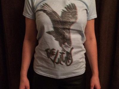 The Vultures Blue 3D Woman's T-Shirt main photo