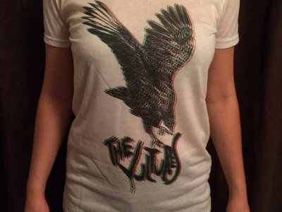 The Vultures White 3D Woman's T-Shirt main photo