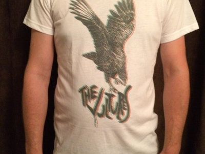The Vultures White 3D Men's T-Shirt main photo