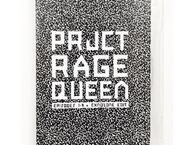 PROJECT RAGE QUEEN DVD - Episodes 1-4 + Exnozone Edit main photo