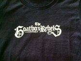 Goatbox Logo Ladies Tee w/ bonus EP Download! photo