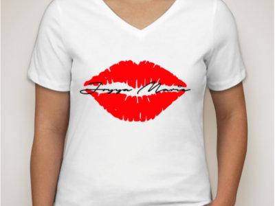 Joyya Marie Red Lips v-neck main photo