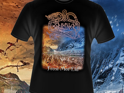 "Grimner T-shirt ""Frost Mot Eld"" main photo"
