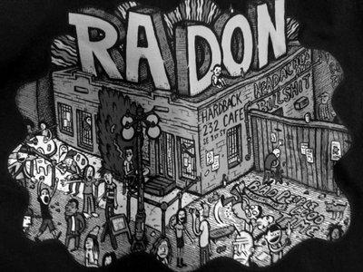 Wolfgang's Radon Hardback shirt in b&w main photo