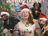 "OG Christmas Combo: ""SchwarZenatoR"" Logo T-shirt (L&XL only) + Full-Length CD + ""Jingle All The Way"" digital single! photo"