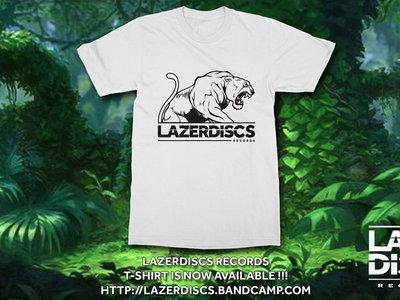 Lazerdiscs Tiger Logo T Shirt main photo