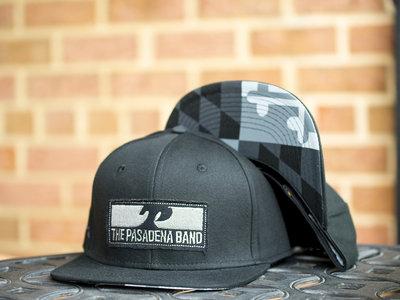 Black Maryland Flag Hat main photo