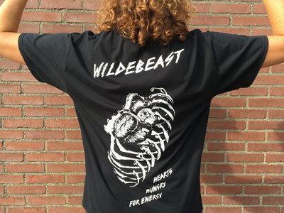 Wildebeast - Black Heart Shirt main photo
