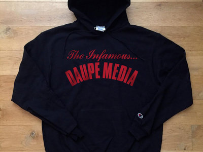 Authentic Daupe / Champion Limited edition  Hoodie BLACK 1/100 (PRE ORDER expected LATE SEPTEMBER) main photo