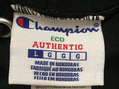 Authentic Daupe / Champion Limited edition  Hoodie BLACK 1/100 (PRE ORDER expected LATE SEPTEMBER) photo
