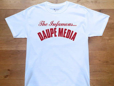 Authentic Daupe / Champion Limited edition T - Shirt WHITE 1/100 (pre order expected LATE SEPTEMBER) main photo