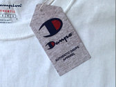 Authentic Daupe / Champion Limited edition T - Shirt WHITE 1/100 (pre order expected LATE SEPTEMBER) photo