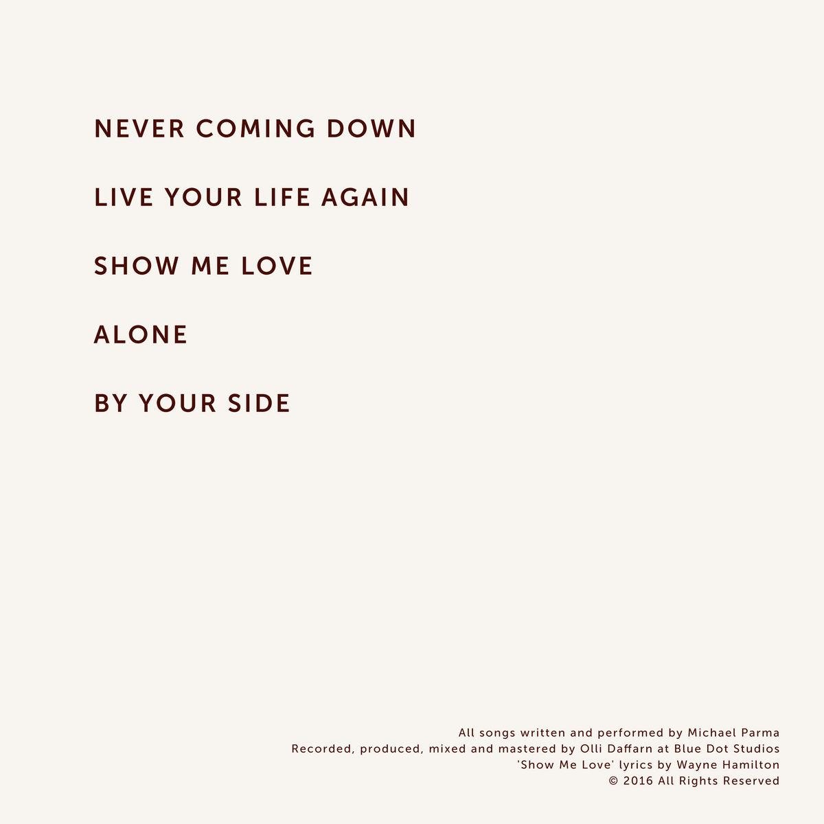 Show Me Love   Michael Parma