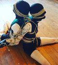Latex Honey Glove image