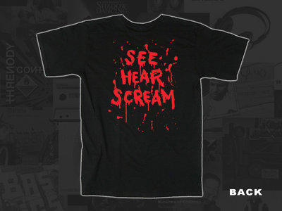 DEFORMER See, Hear, Scream T-shirt main photo