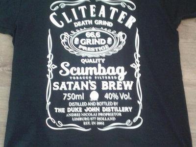 Cliteater Jack Daniels T-Shirt main photo