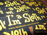 I'm a Sloth against watching TV!! T-Shirts photo