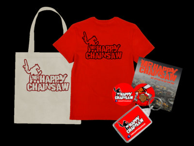 Mr Happy Chainsaw Goodie Bag main photo