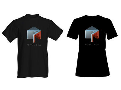 Astral Bell Cube Design T-shirt main photo