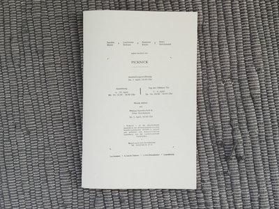 PICKNICK - Catalogue / Broshure main photo