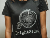 High Wheeler T-Shirt (Black, Female) photo