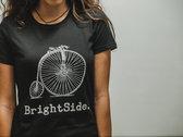 High Wheeler T-Shirt (Black, Female) photo