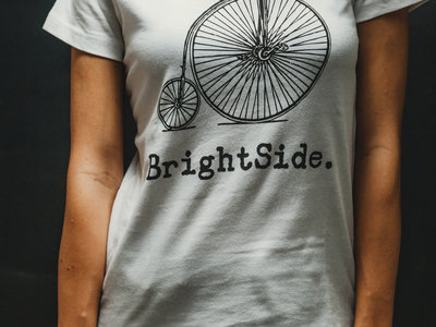 High Wheeler T-Shirt (Female, White) main photo