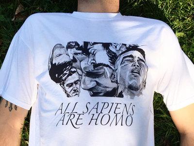 All Sapiens Are Homo T-shirt main photo