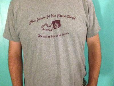 Mike Adams At His Honest Weight shirt main photo