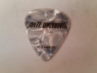 Hate Unbound Guitar Pick main photo