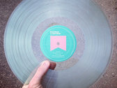 "Distro Item / Josh Ottum ""Smart/Dumb"" clear vinyl LP photo"