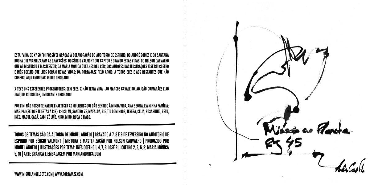 A Vida de X | Miguel Ângelo