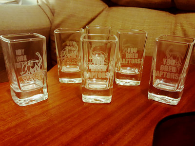 {Limited Edition} YBR? Extra Large Shot Glasses main photo
