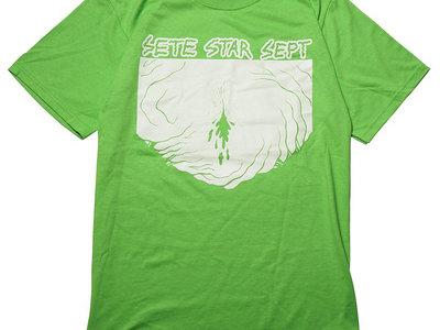 """BeastWorld EGG"" T-shirt - light green main photo"