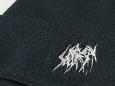 Knit cap (Double) - Black photo