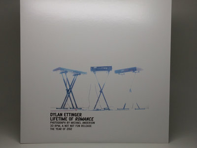 "Distro Item / Dylan Ettinger ""Lifetime of Romance"" LP main photo"