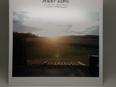 "Distro Item / Mount Eerie ""Live in Bloomington, September 30th, 2011"" LP main photo"