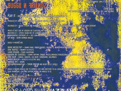 "Bugge N Friends ""Play It"" – 12"" Vinyl Release main photo"
