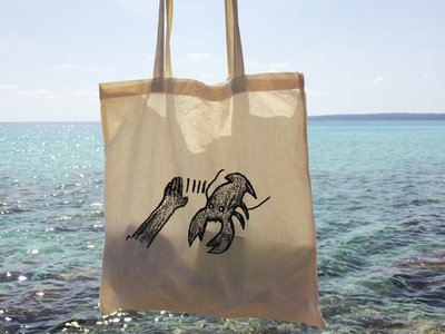Lobster Theremin Tote Bag - Beige main photo