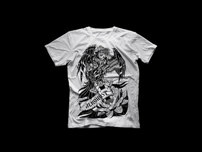 """T-shirt """"Песни белой лилии"""" - White main photo"""