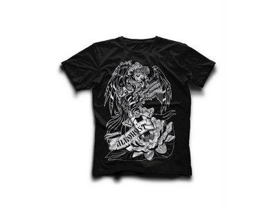 "T-shirt ""Песни белой лилии"" - Black main photo"
