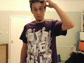 Off Me Nut - Spinnin' Out (Pogger) T-Shirt - PURPLE photo