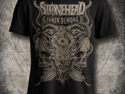 Shirt - Inner Demons - men - black - organic shirt main photo