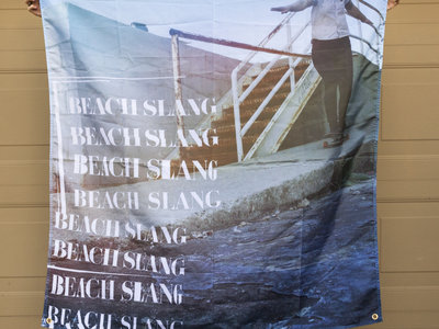 "Beach Slang 48""x48"" Flag main photo"