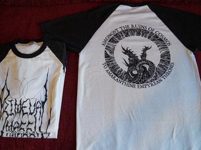Primeval Mass T-shirt (Black/white) main photo