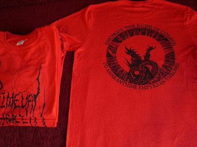 Primeval Mass T-shirt (Red/black) main photo