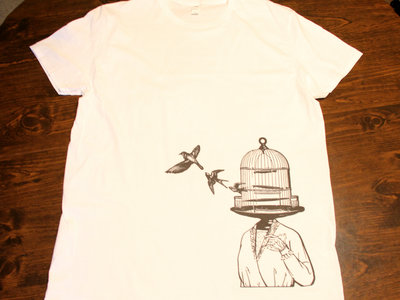 White Caged Lady T-shirt main photo