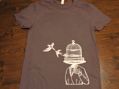 Charcoal Grey Caged Lady T-shirt main photo