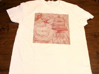 White B2B Album Cover T-shirt main photo