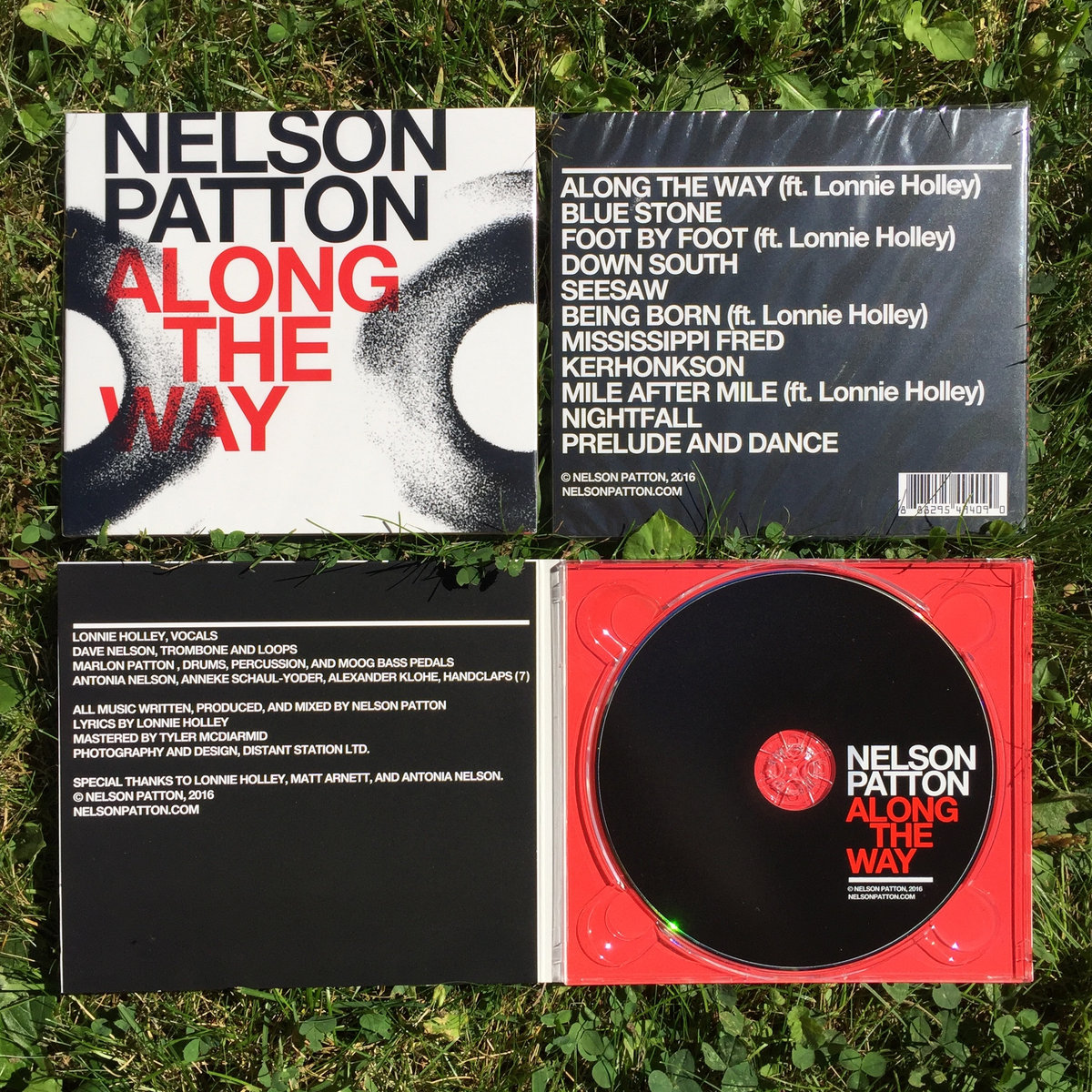 nelson patton comes in a digipak case artwork by scott devendorf includes unlimited streaming of along the way via the bandcamp app plus high quality